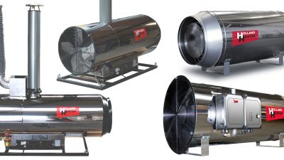Oil and gas horticulture heaters