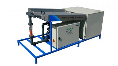 UV disinfection unit