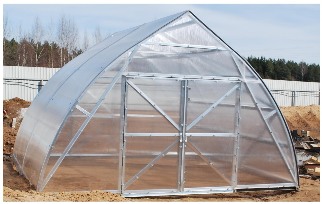 FERMER Polycarbonate greenhouse